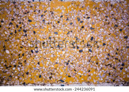 Terrazzo Floor Yellow Stock Photo Edit Now 244236091