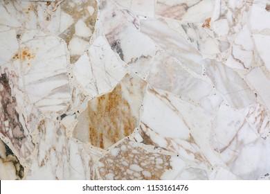 Terrazzo marble floor background