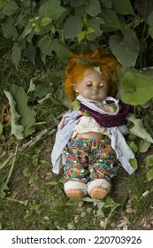 Terrible old doll
