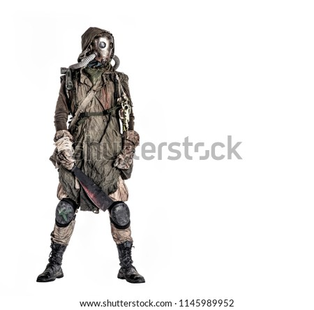 Terrifying post apocalyptic human