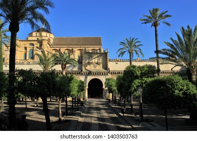 territory of the historic building of the city of Cordoba