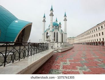 the territory of the Kazan Kremlin in the Kul Sharif mosque