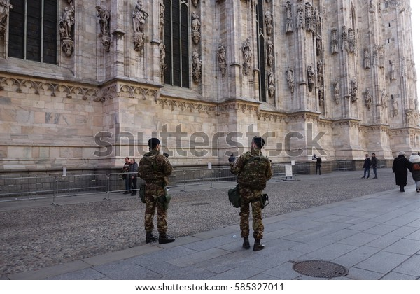 Terrorism Emergency Army Security Service Near Stock Photo Edit Now 585327011