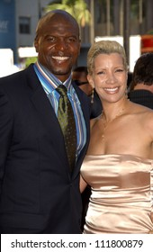 Terry Crews and wife Rebecca at the 2007 ESPY Awards. Kodak Theatre, Hollywood, CA. 07-11-07