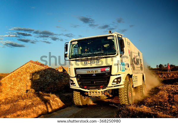Teruel Spain Jul 25 Dutch Driver Stock Photo Edit Now