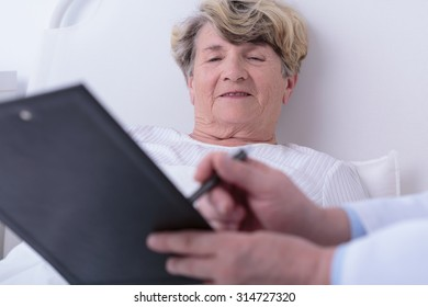 Test results are very optimistic for elder female patient