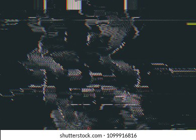 Test Screen abstract Glitch Texture