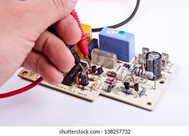 Testing a board
