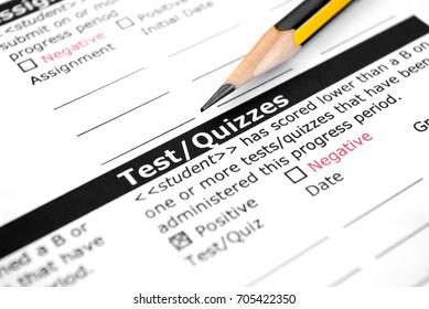Test-Quizzes