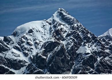 Tetnuldi massif. Caucasus mountains. Svaneti region. Georgia. Europe - Shutterstock ID 606930509