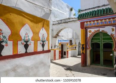 Tetouan, Morocco, view of the entrance of a Mosque