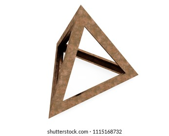 Tetraedron, 3D model