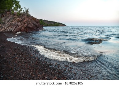 Tettegouche State Park on the north shore of Lake Superior in Minnesota