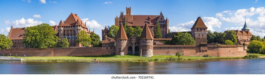 Teutonic Castle in Malbork