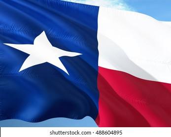 Texas flag on the mast