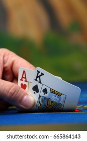 A texas holdem poker hand