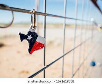 Texas Keychain in Marfa Texas