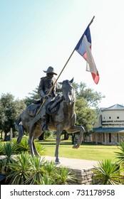 Texas Ranger Statue in Waco, TX