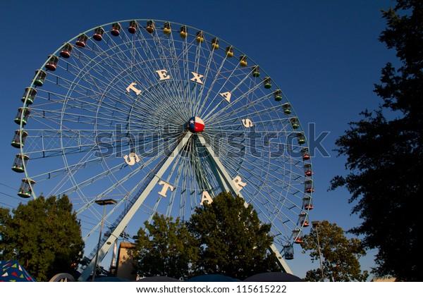 Texas Star Ferris Wheel at the Texas State Fair