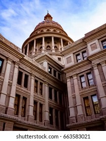 Texas State Capital Building in Austin, Texas