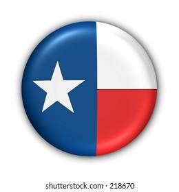 Texas State Flag Button