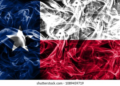 Texas state smoke flag, United States Of America