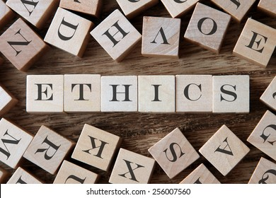 text of ETHICS on cubes