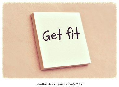 Text get fit on the short note texture background