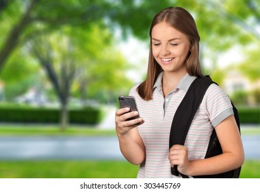 Text Messaging, Mobile Phone, Teenager.