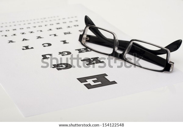 the text paper and glasses on the table