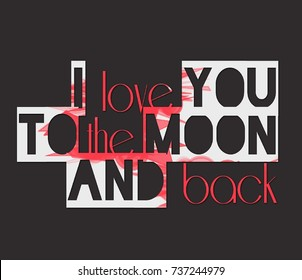 I love you save the date images stock photos vectors shutterstock text quote saying i love you to the moon and back 3d illustration thecheapjerseys Image collections