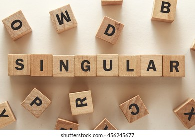 text of SINGULAR on cubes