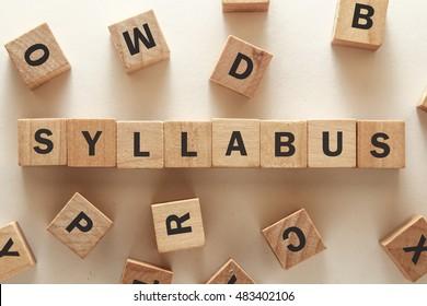 text of SYLLABUS on cubes