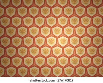 Textile cloth colorful