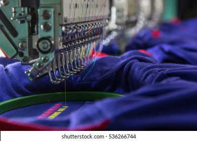 Textile embroidery machine in  Garment Manufacturers