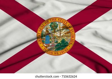 Textile Flag of Florida