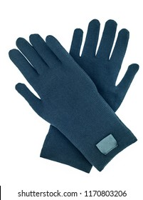 textile protective gloves isolated