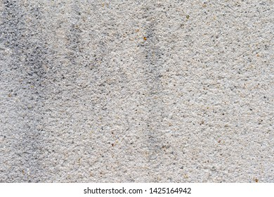 Texture of Aged White Cement Wall