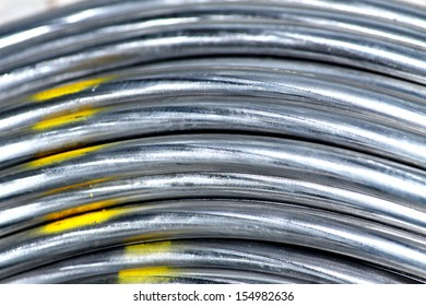 Texture of aluminum wire for armor rod cable