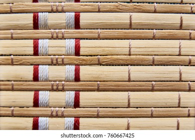 Texture, background of a bamboo napkin.