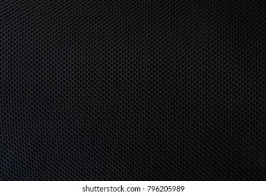 texture background of black fabric