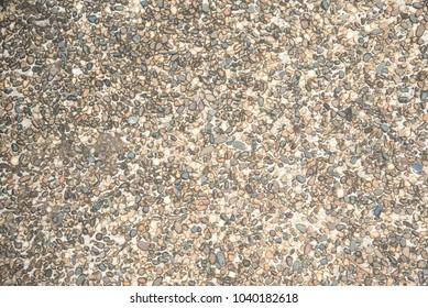 Texture background gravel floor