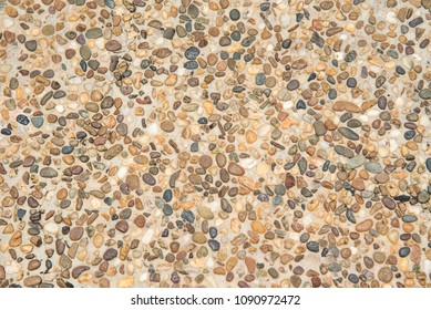 Texture background gravel floor