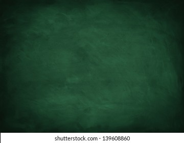 texture background with green chalkboard