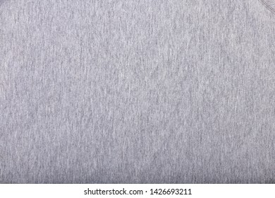 The texture background of the grey clothes