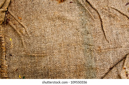Texture background of grunge fabric