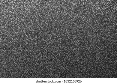 texture and background of hammered powder paint coating on flat sheet steel surface