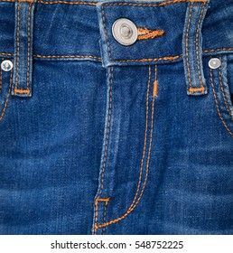 Texture background of jeans , detail