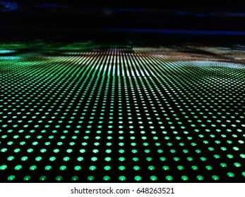 Texture background LED display technology that show the colorful display.