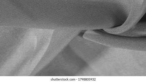 texture, background, pattern, gray black Silk Fabric This very lightweight synthetic silk fabric has a nice sheen. Perfect for adding elegance to your internet decor projects.